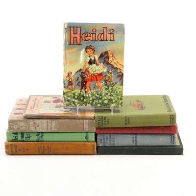 """Children's Classics Including """"Heidi"""" and More, Early to Mid-20th Century"""