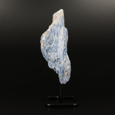 Rough Kyanite Specimen with Display Stand
