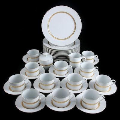 "Retroneu ""Imperial Gold"" Gold Encrusted Porcelain Dinnerware, 1998–2001"