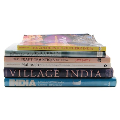 """""""The Colours of Southern India"""" and More Art and Reference Books"""