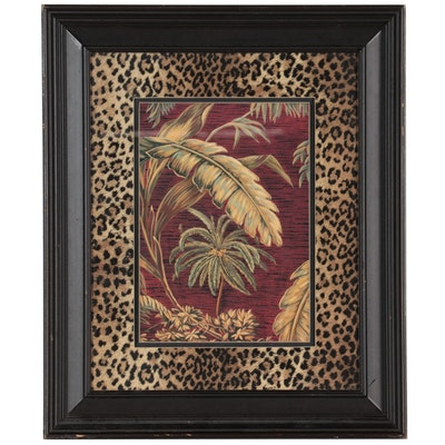 Offset Lithograph of Palm Trees, 21st Century