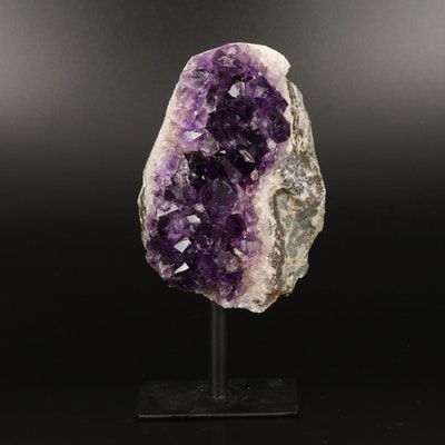 Amethyst Geode with Stand