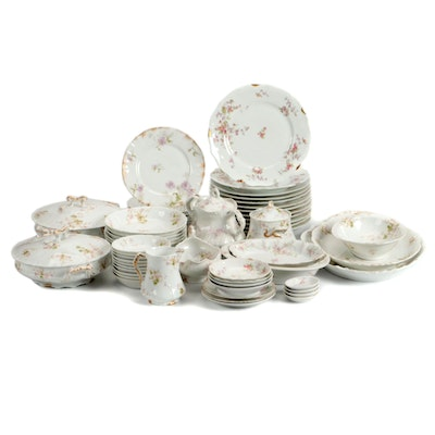 Theodore Haviland Limoges Porcelain Dinnerware with Others