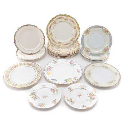 Minton, Noritake and Other Porcelain, Bone China and Ceramic Plates