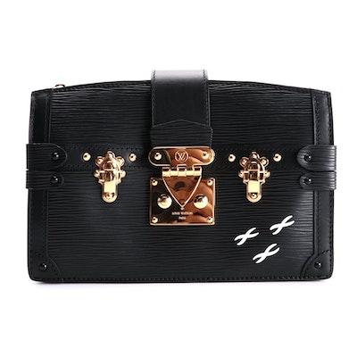 Louis Vuitton Trunk Clutch in Black Epi Leather