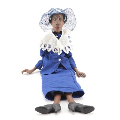 """Daddy's Long Legs """"Jackie"""" Cast Resin Doll, 1990s"""