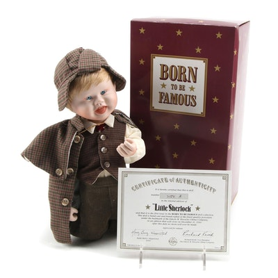 """Knowles Limited Edition """"Little Sherlock"""" Born to be Famous Doll"""