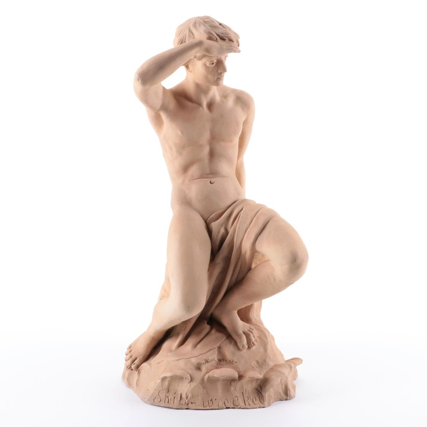 "Ceramic Sculpture ""Ship-Wrecked"""
