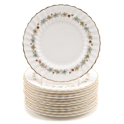 "Royal Doulton ""Piedmont"" Bone China Salad Plates"