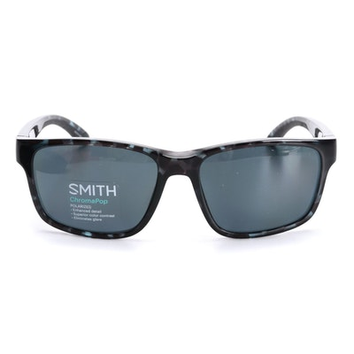 Smith Basecamp Sunglasses in Black Ice Tortoise with Polarized ChromaPop Lenses