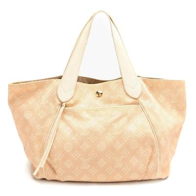 Louis Vuitton Limited Edition Cabas Ipanema PM Bag in Monogram Sable Canvas