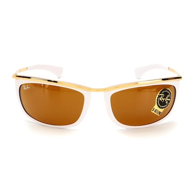 Ray-Ban RB2319 Olympian I Sunglasses with Case and Box