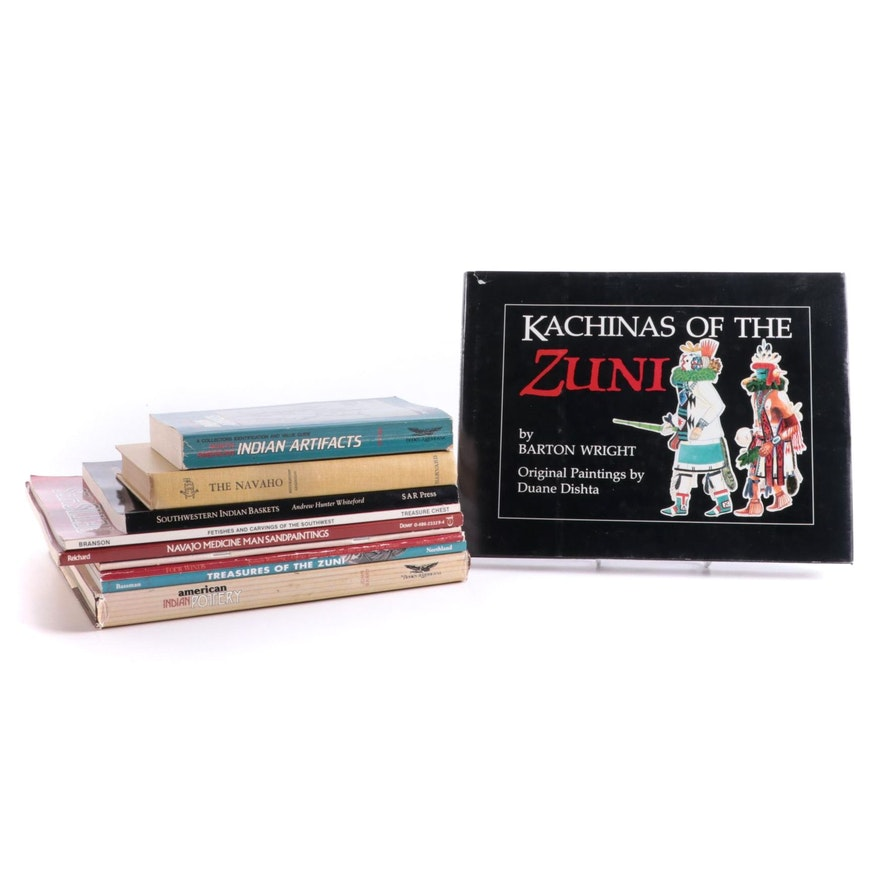 """""""Kachinas of the Zuni"""" and More Native American Art Reference Books"""