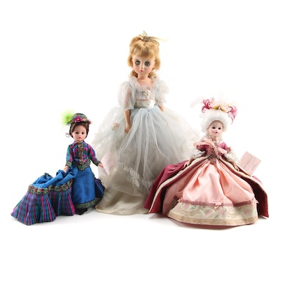 """Madame Alexander """"Marie Antoinette"""" and More Composite Dolls"""