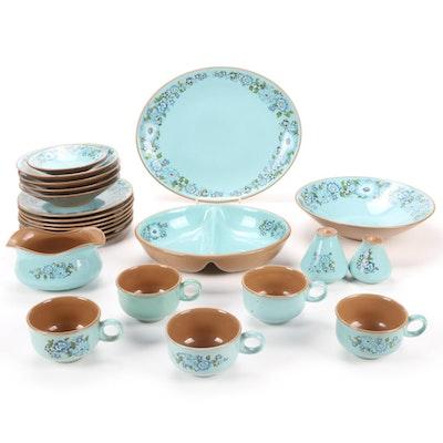 "Taylor Smith & Taylor Co. ""Azura"" Ceramic Ironware Dinnerware"