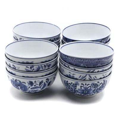 Chinese Style Blue and White Porcelain Bowls
