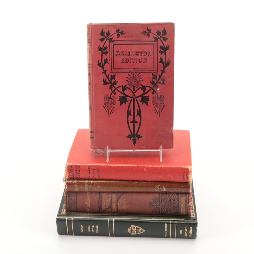"""""""Daniel Deronda"""" by George Eliot and More Books, Late 19th to Mid-20th Century"""