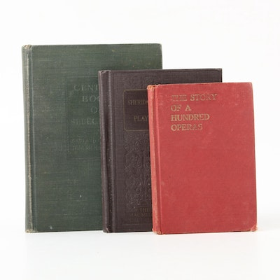 """""""The Century Book of Selections"""" and More Books, Early to Mid-20th Century"""