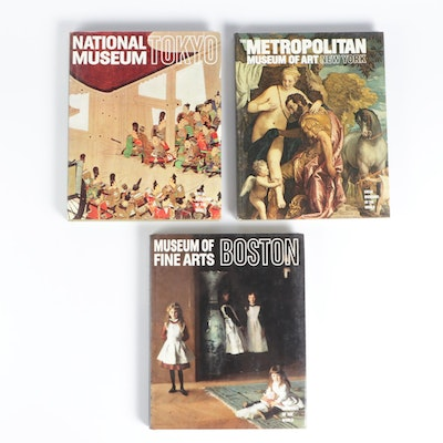 """""""Great Museums of the World"""" Book Collection, Mid to Late 20th Century"""