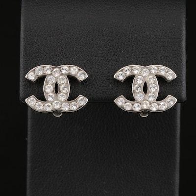 Spring 2002 Chanel Logo Earrings