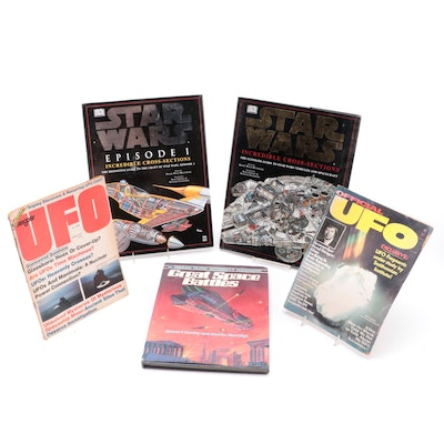 """""""Great Space Battles,"""" """"Star Wars: Episode I,"""" and More Sci-Fi Books"""