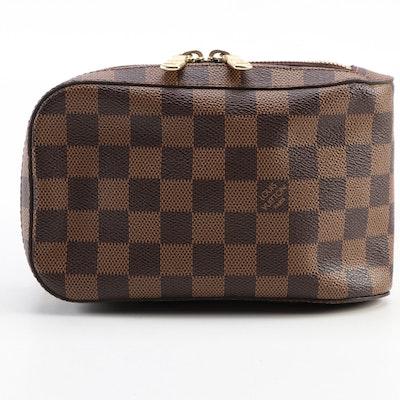 Louis Vuitton Géronimos Sling Bag in Damier Ebene Canvas
