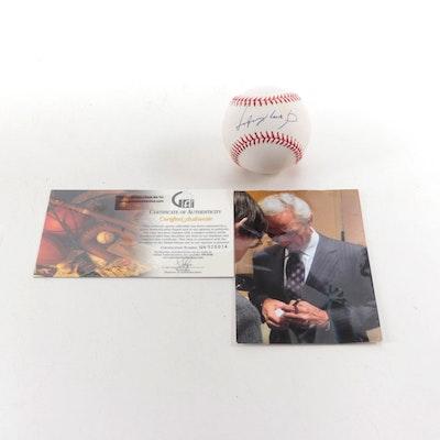 Sandy Koufax Signed Rawlings Major League Baseball, Global COA
