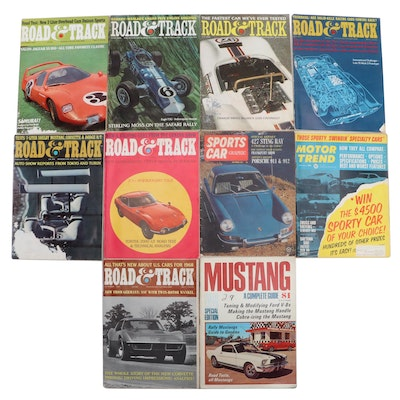 """""""Road and Track"""" and """"Car Life"""" Magazine Collection, 1965–1967"""