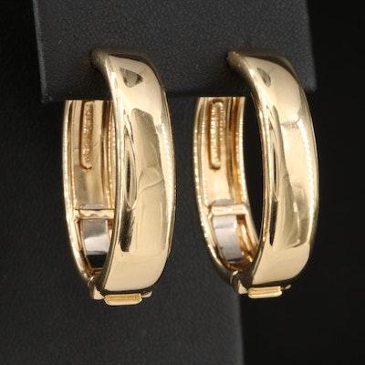 Valentin Magro 18K Oval Hoop Earrings