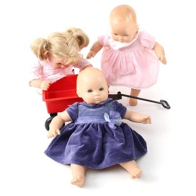 Pleasant Company Bitty Babies and Bitty Wagon
