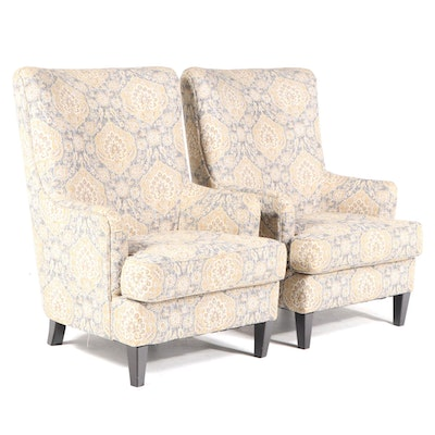 Pair of Ashley Furniture Upholstered Armchairs