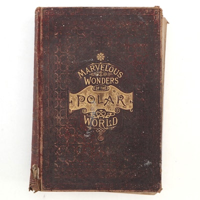"""""""The Marvelous Wonders of the Polar World"""" by Herman Dieck, c. 1885"""
