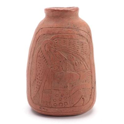 Mesoamerican Style Earthenware Vessel