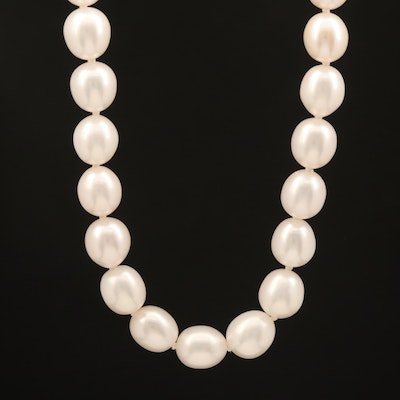 Pearl Rope Length Endless Necklace