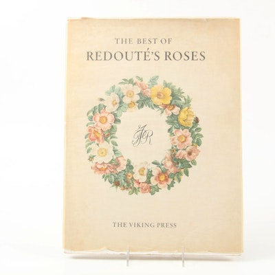 """""""The Best of Redouté's Roses"""" by Eva Mannering, 1960"""