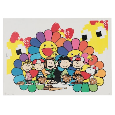 Death NYC Offset Lithograph of The Peanuts, 2020