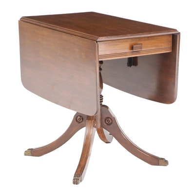 Greenville Industries Classical Style Pembroke Table, Mid-20th Century