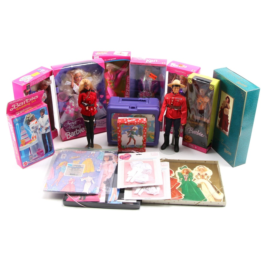 """Mattel Barbie Collection and Accessories Featuring """"Victorian Elegance"""""""