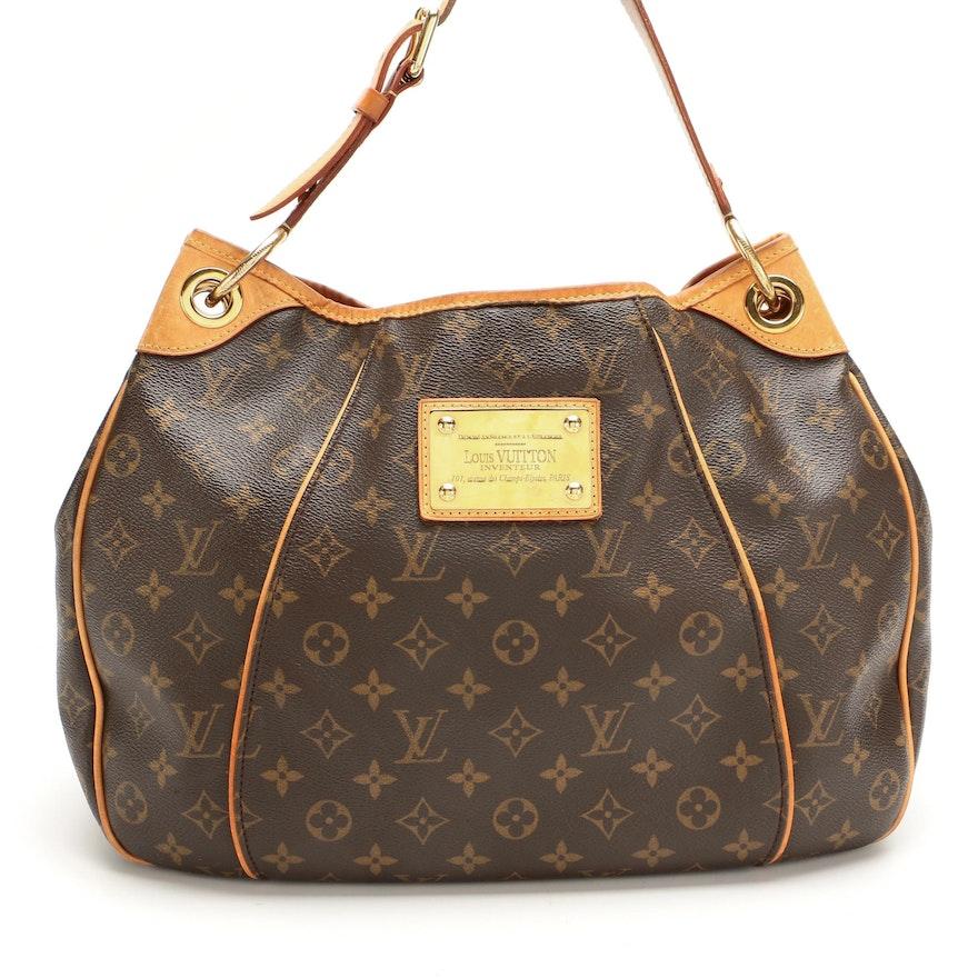 Louis Vuitton Galleria PM in Monogram Canvas and Vachetta Leather