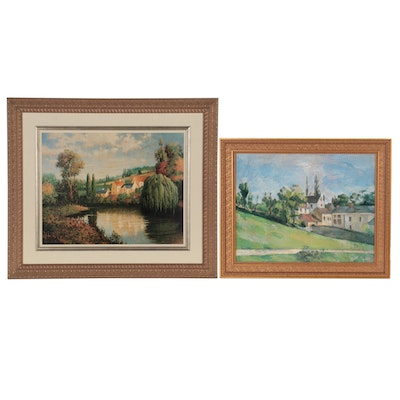 Offset Lithographs Including After Cézanne