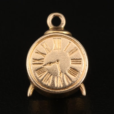 10K Alarm Clock Charm