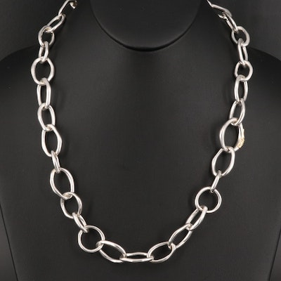 Ippolita Sterling Silver Chain Link Necklace
