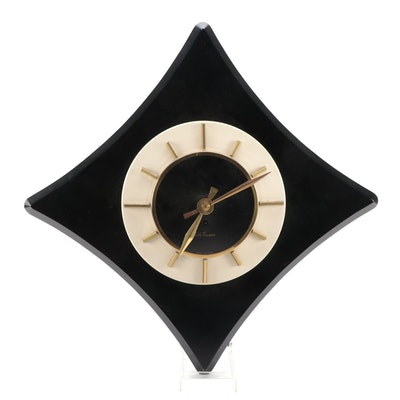 "Seth Thomas ""Rivoli"" Mid Century Modern Wall Clock"