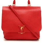 Louis Vuitton Volta Two-Way Bag in Coquelicot Taurillon Leather