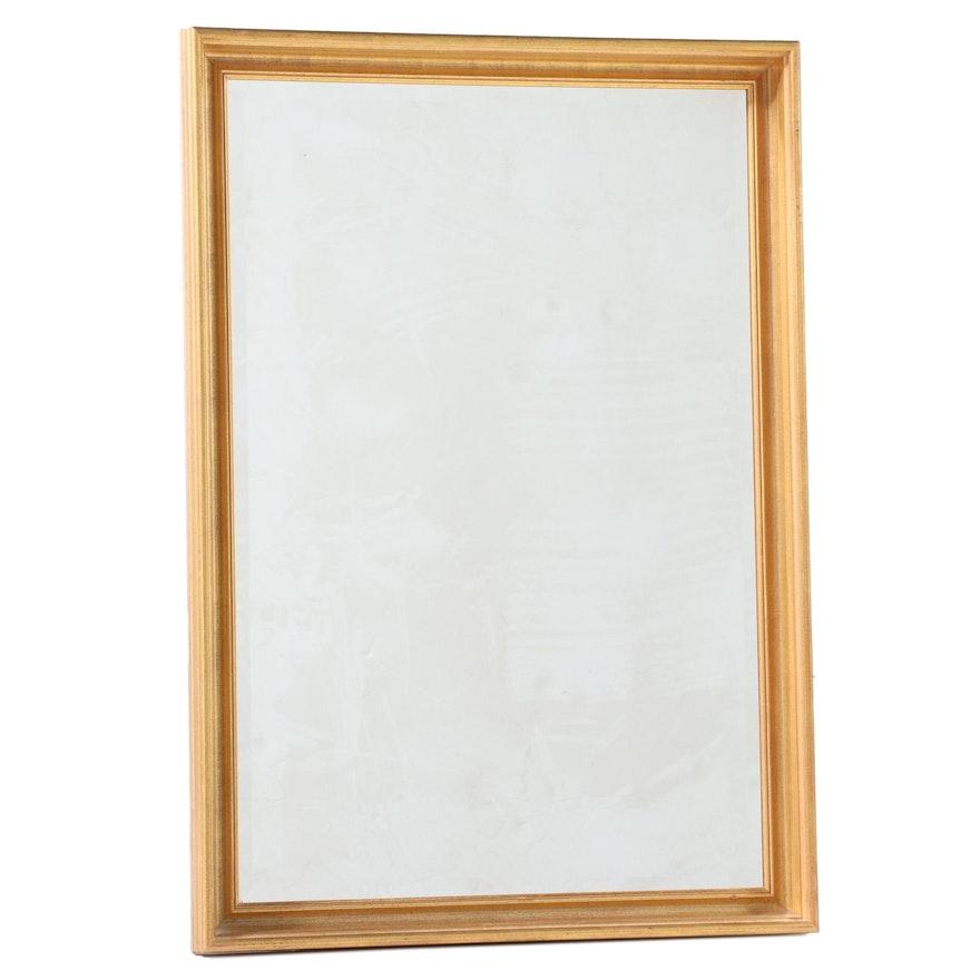 Uttermost Rectangular Giltwood Frame Wall Mirror