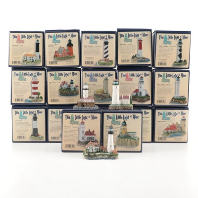 """Harbour Lights """"This Little Light of Mine"""" Lighthouse Figurines"""