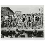 Don Jim Art Archival Print of Miss Muscle Beach Competition, 21st Century