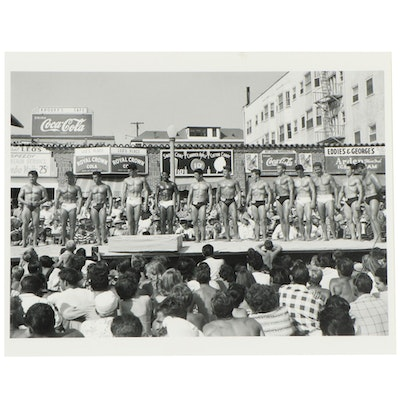 Don Jim Art Archival Print of Mr. Muscle Beach Competition, 21st Century