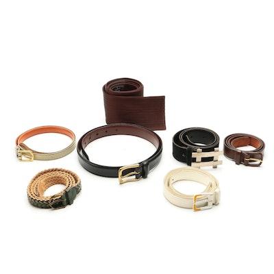Emporio Armani, Polo Ralph Lauren, Pierre Cardin, Pierre Balmain and More Belts