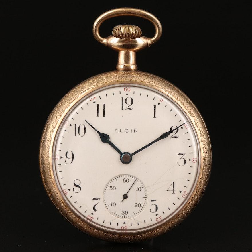1911 Elgin Gold Filled Pocket Watch